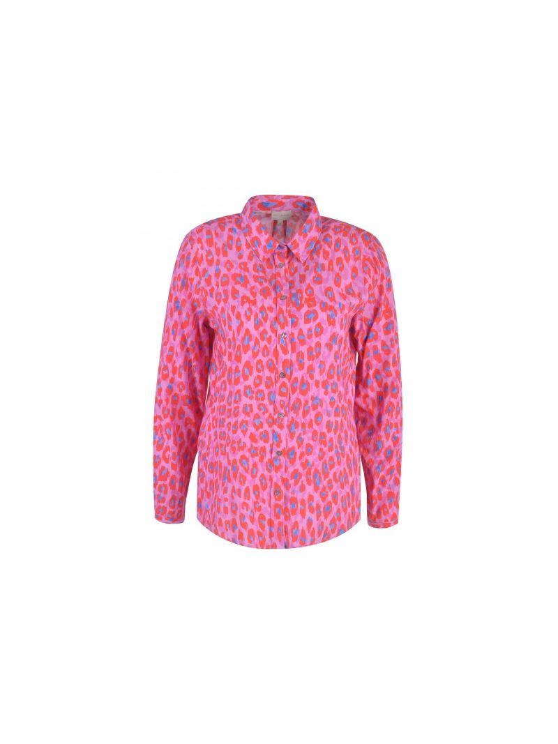 Leopard Print Blousje - Roze