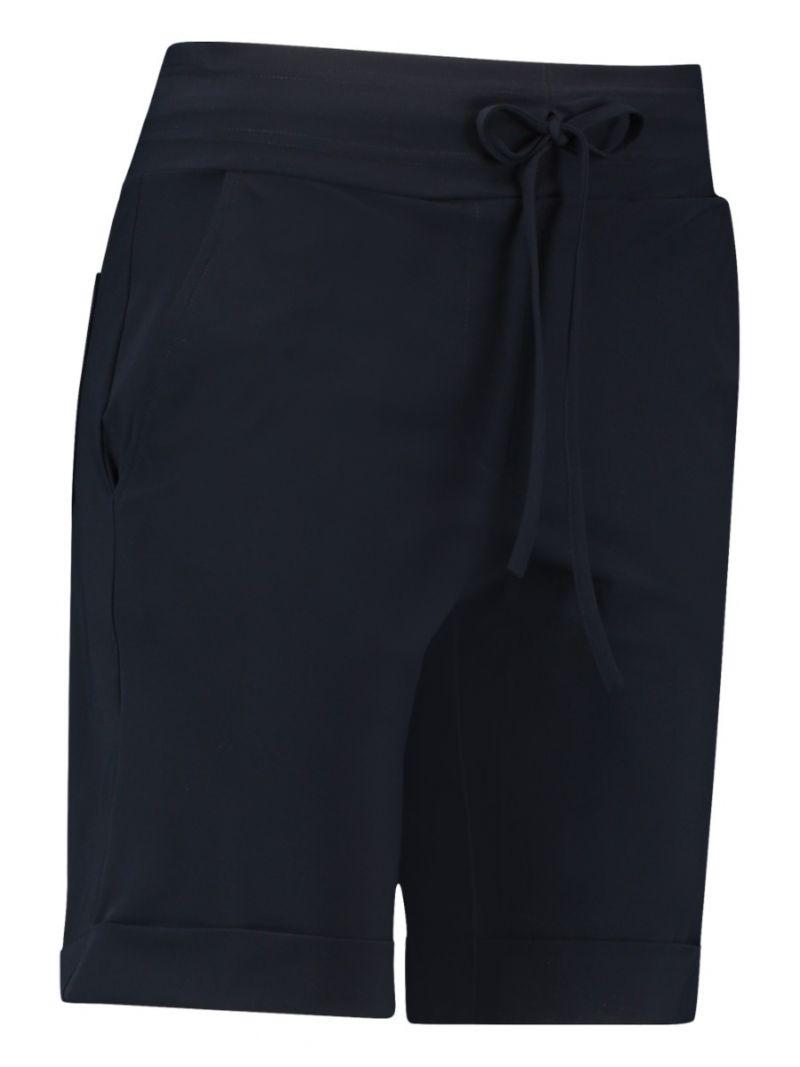 01853 Bermuda Travel Trousers - Donker Blauw