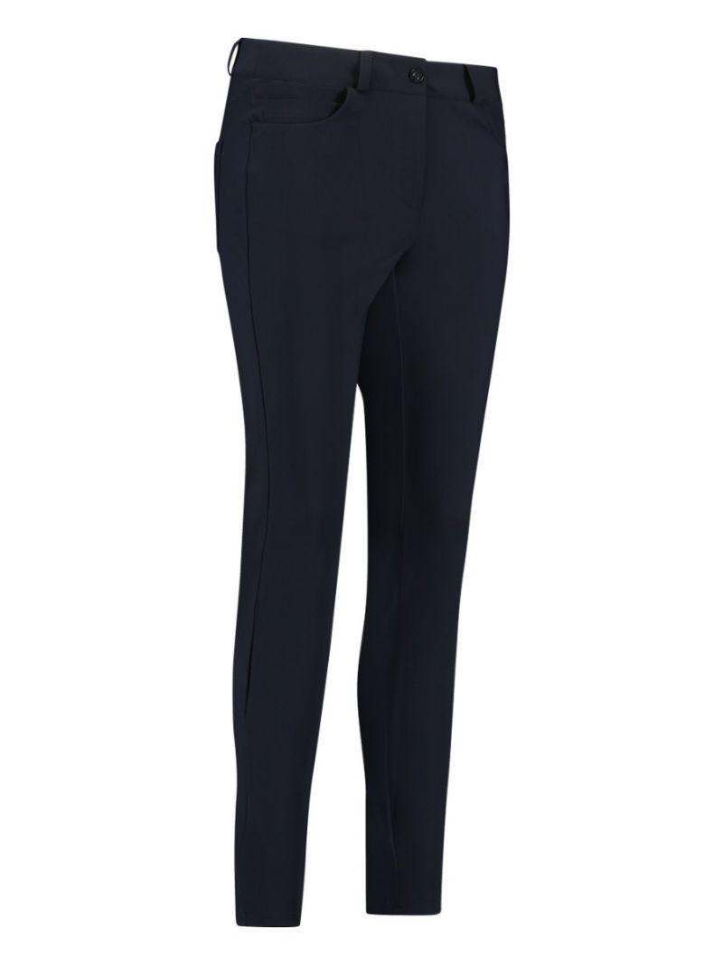 02308 Five pocket Bonded Trouser - Donker Blauw