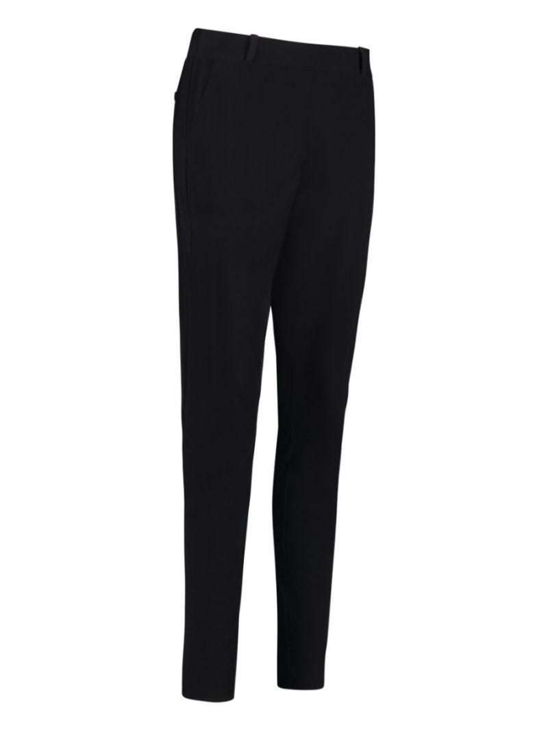 02580 Flo Bonded Travel Trousers - Zwart