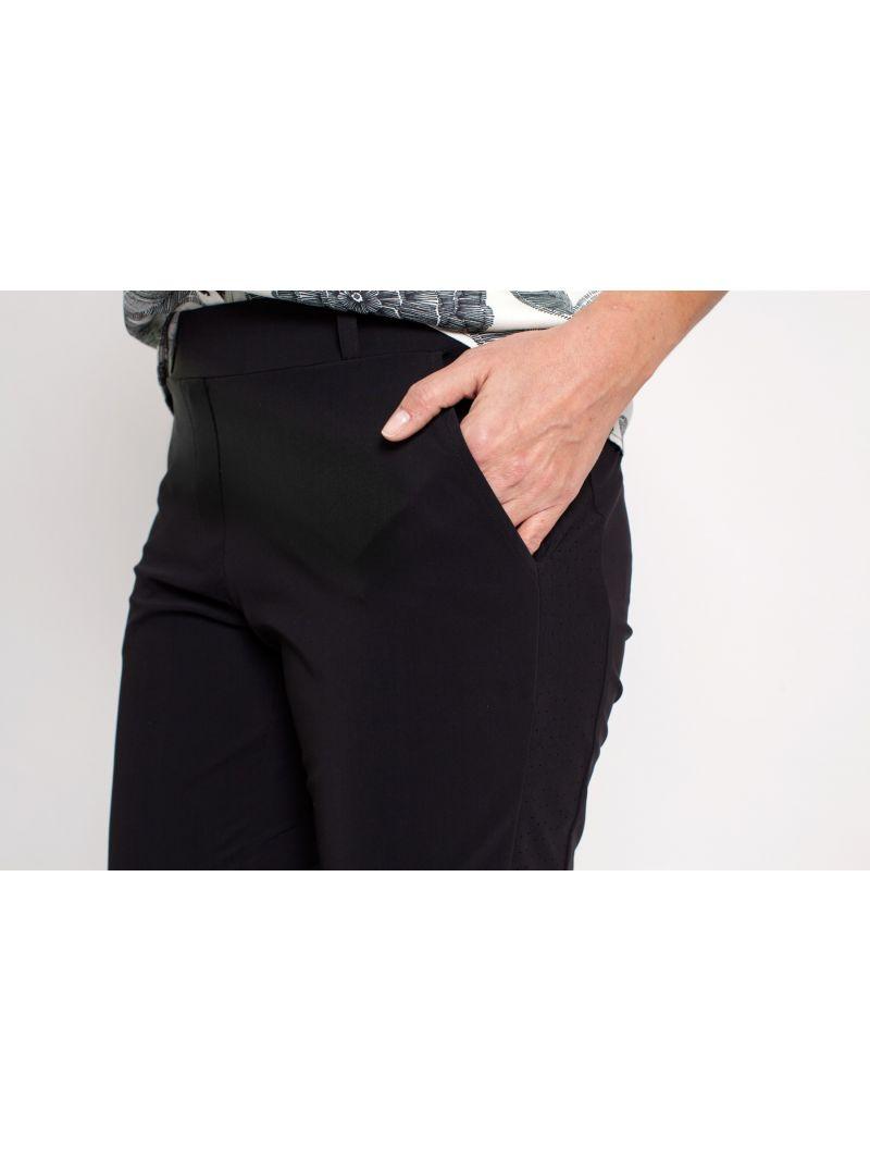 02580 Flo Bonded Travel Trousers - Donker Blauw