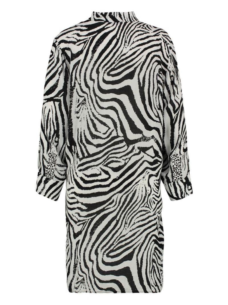 Zebra Blouse Lang