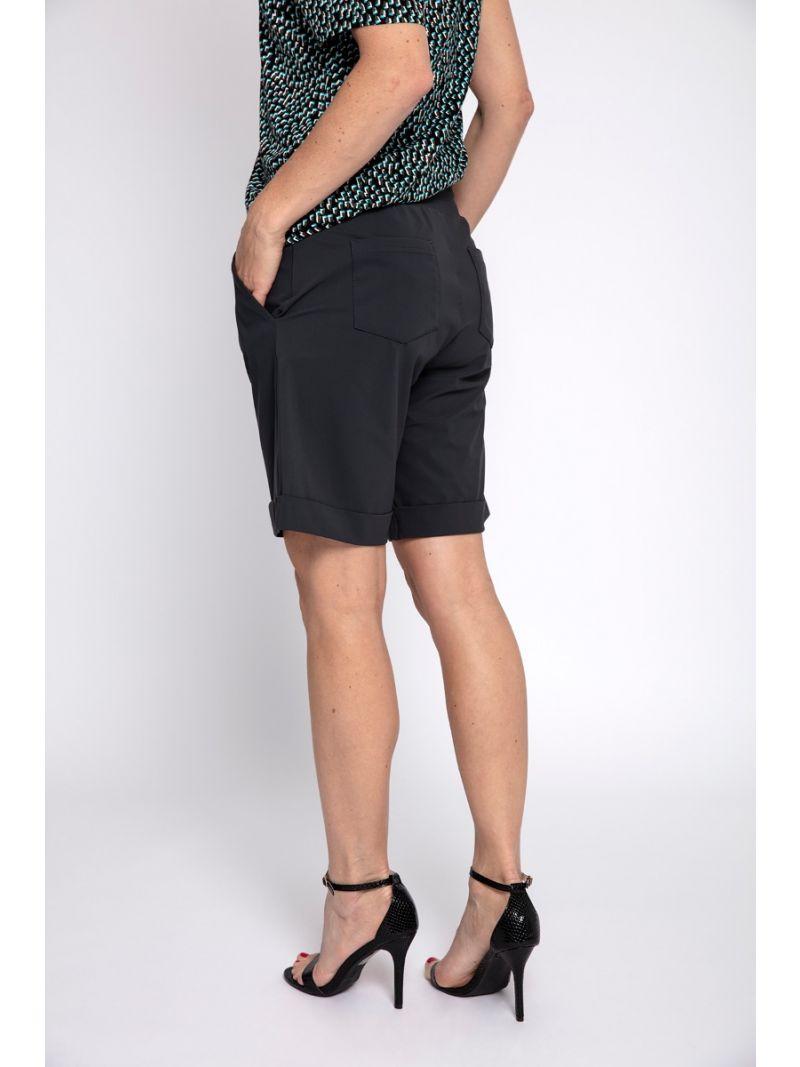 03133 Bermuda Travel Trousers - Antraciet Grijs