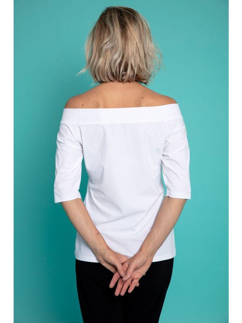 Travel Shirt-Boothals 1/2m