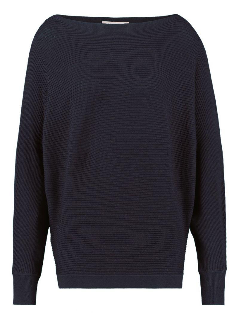 03406 Arabella Batwing Pullover Donker Blauw