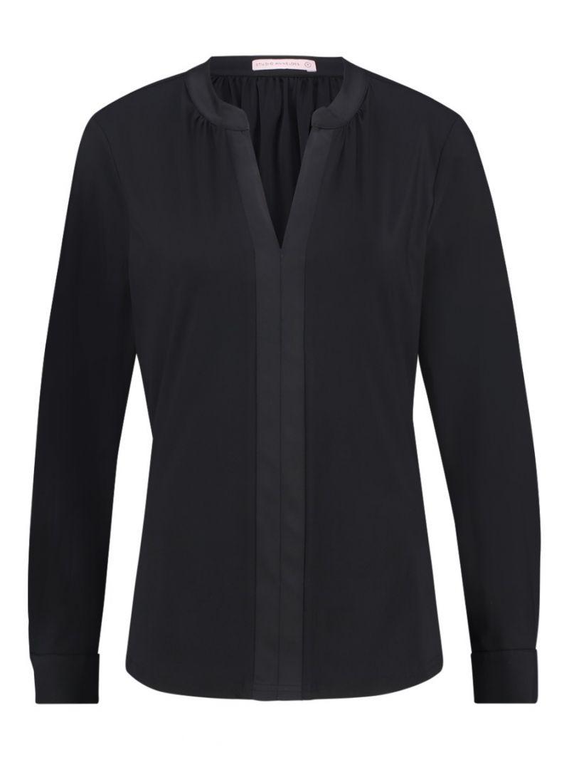 03556 Zelinda Shirt - Zwart