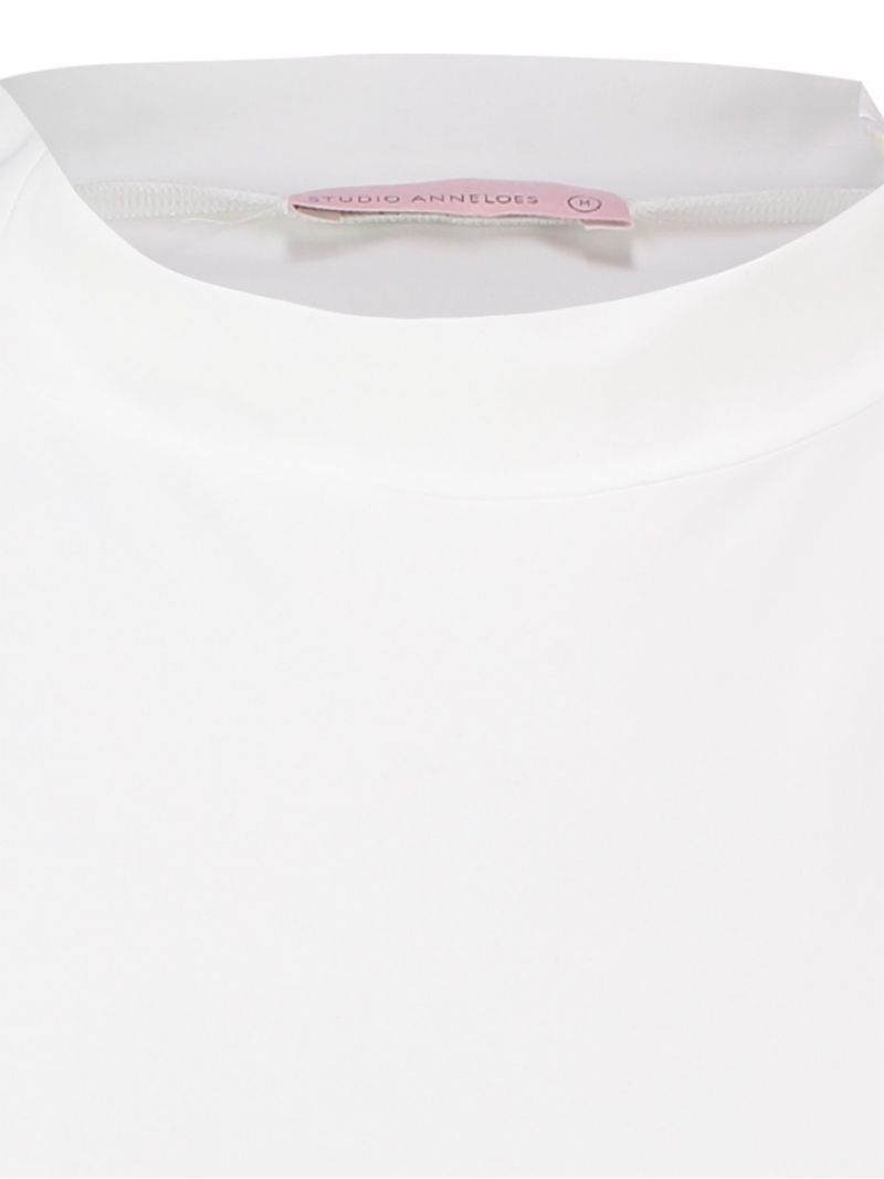 03574 Turtle Neck Shirt - Off White