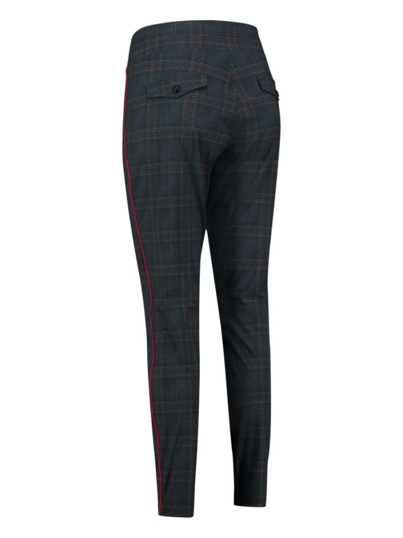 03588 Upstairs Tweed Check Trousers