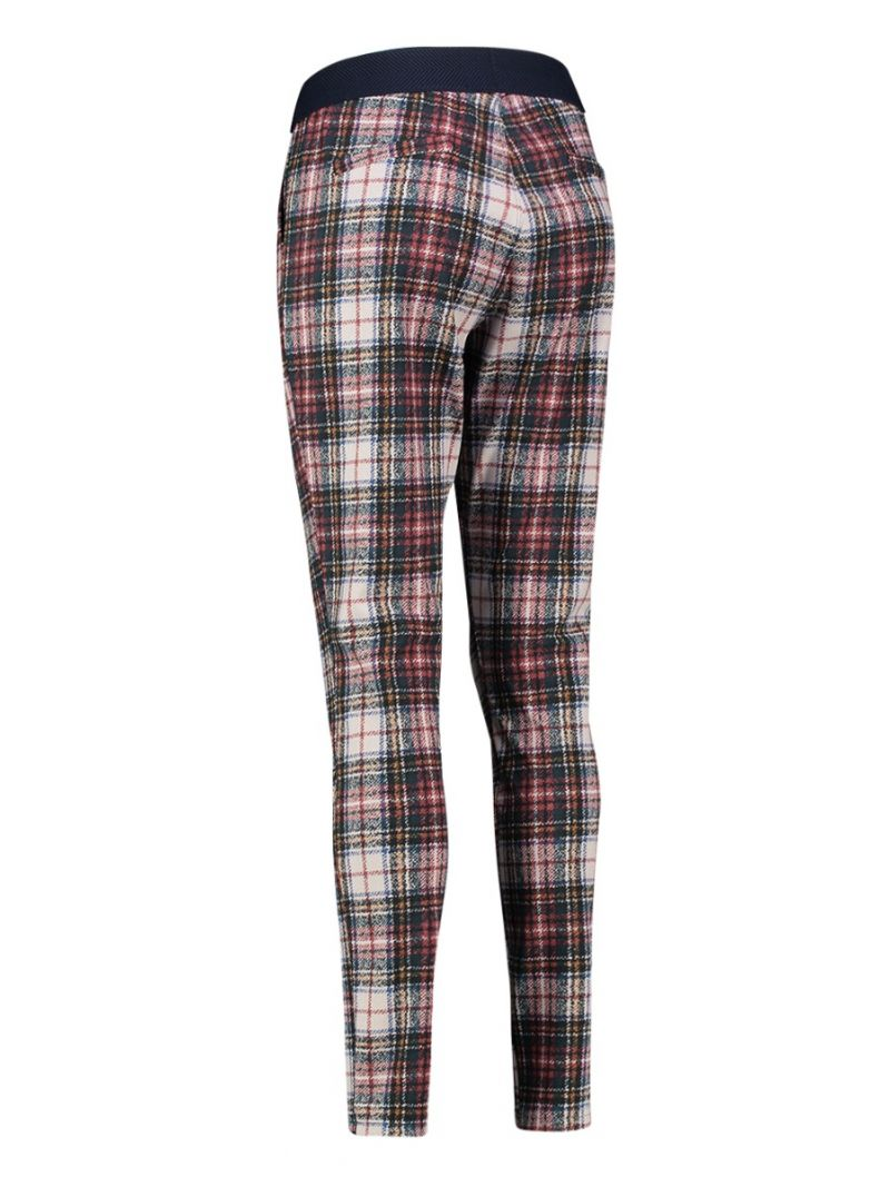 03592 Check Flo Trousers