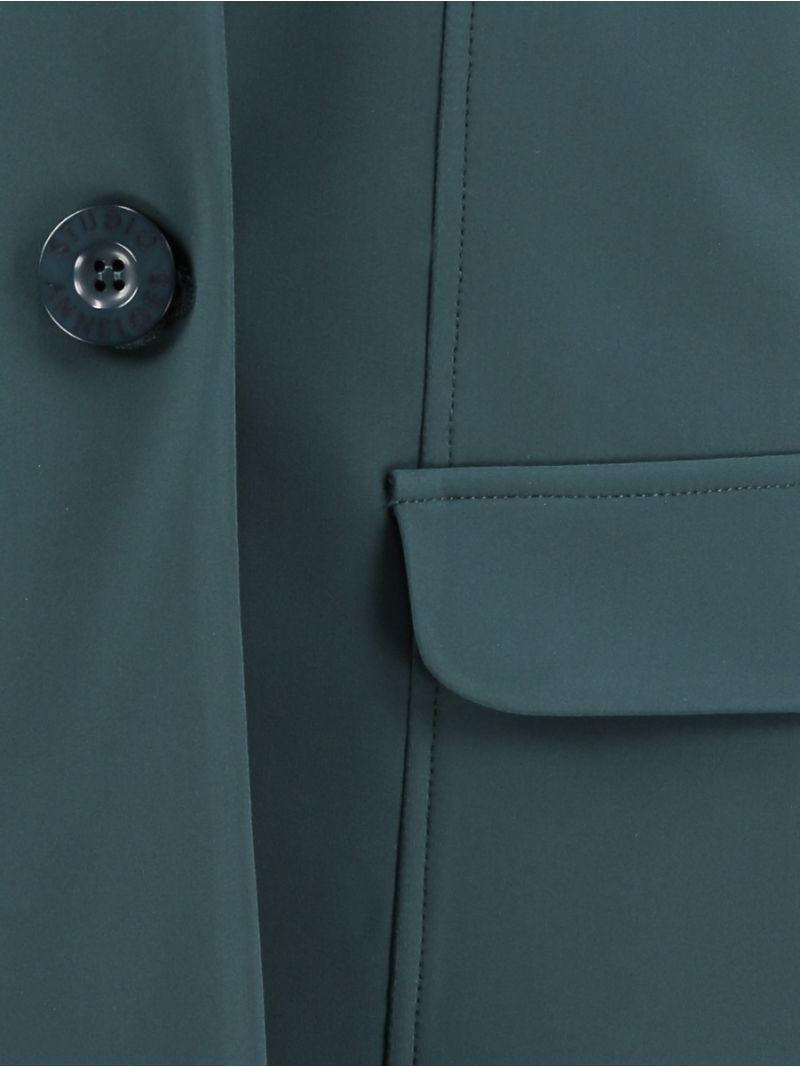 03623 Bright Bonded Blazer - Deep Green