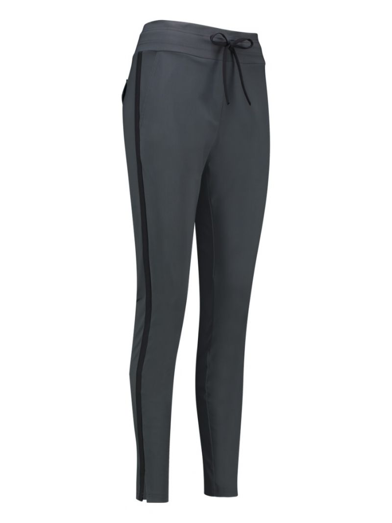 03680 Downstairs Tape Trousers - Antraciet