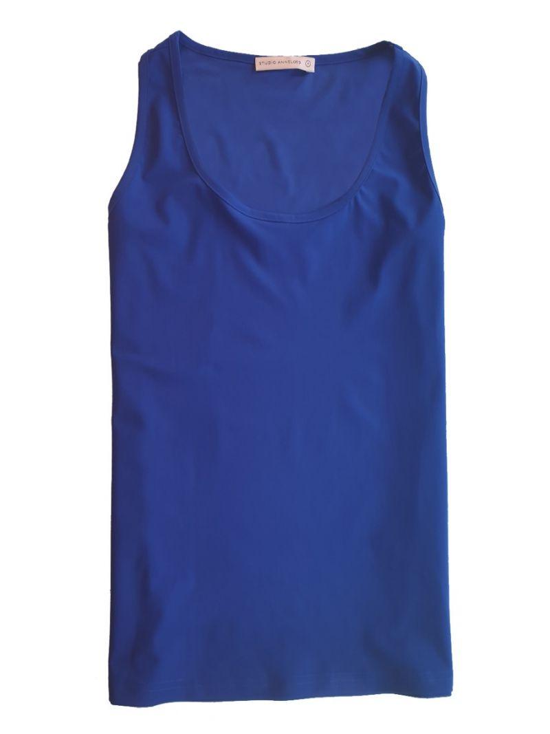 03688 Ready Travel Top - Kobalt Blauw