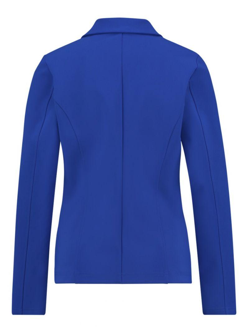 03690 Bright Bonded Blazer - Kobalt Blauw