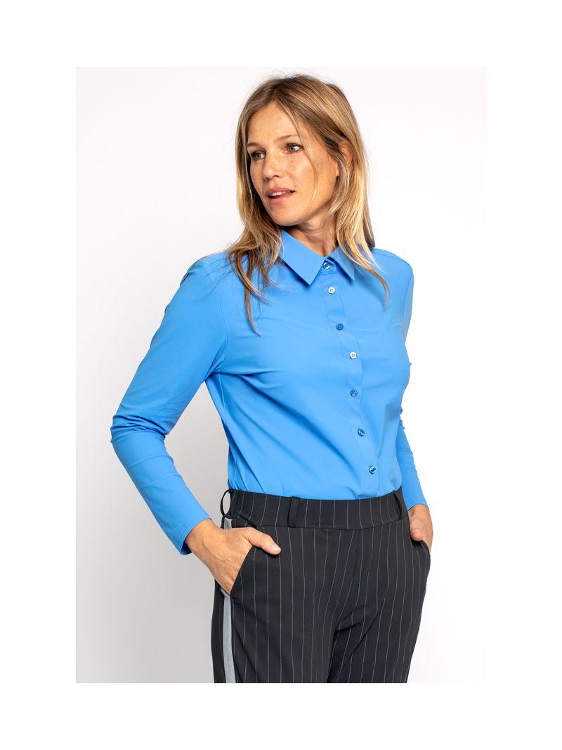 03695 Poppy Shirt - Licht Blauw
