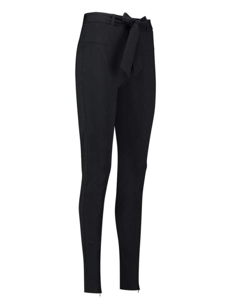 03705 Brandi Travel Trousers - Zwart
