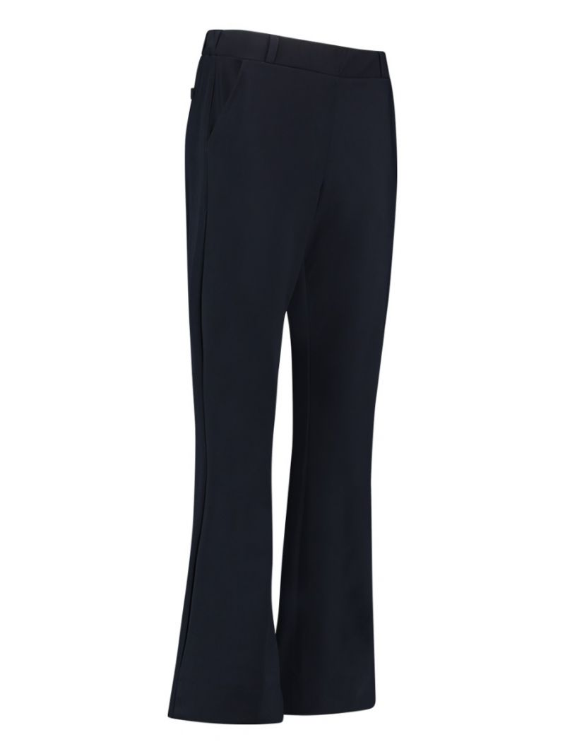 03780 Flair LONG Bonded Trousers - Zwart