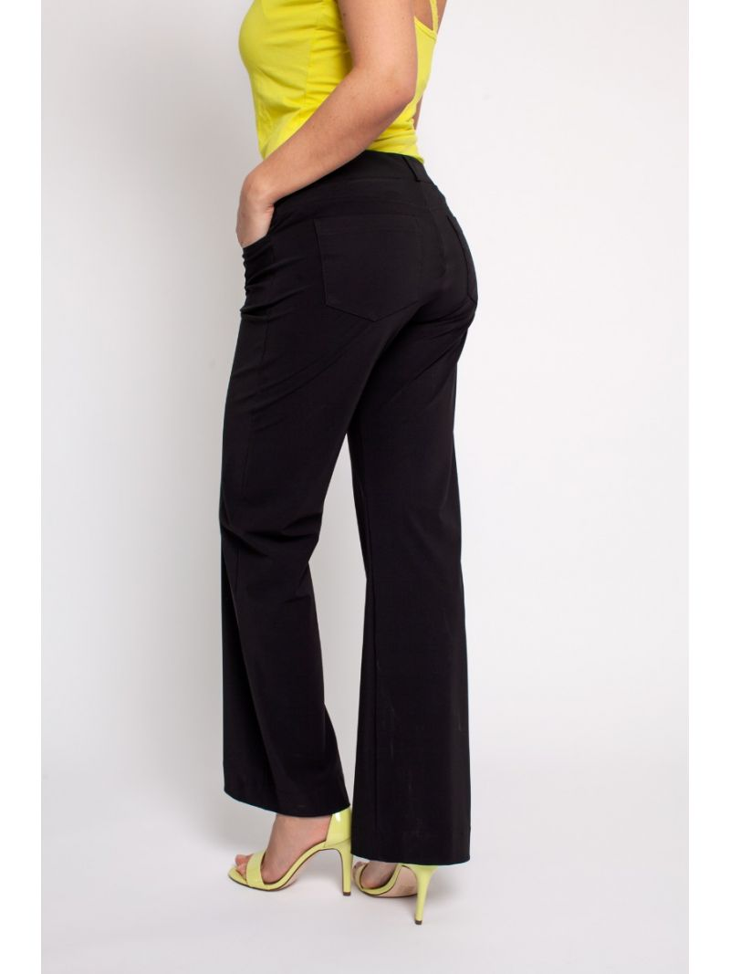 03780 Flair LONG Bonded Trousers - Donker Blauw