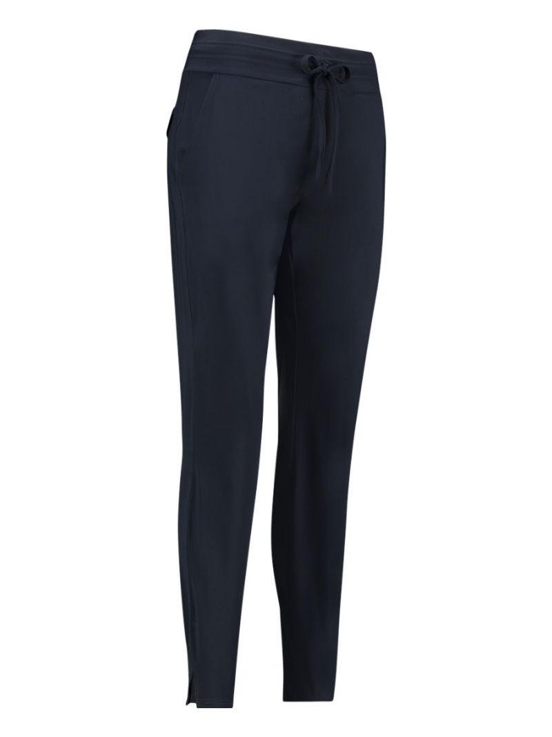 03782 Upstairs LONG Travel Trousers - Donker Blauw