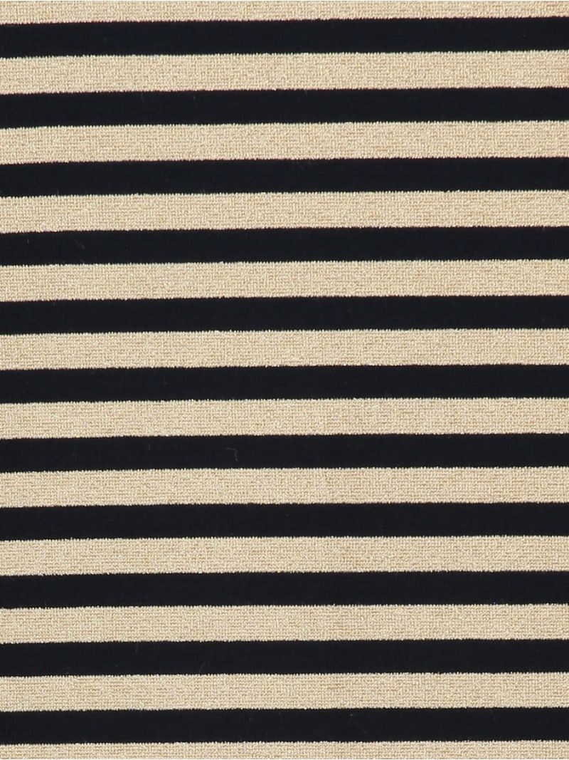 03858 Flavia Big Stripe - Navy/Gold