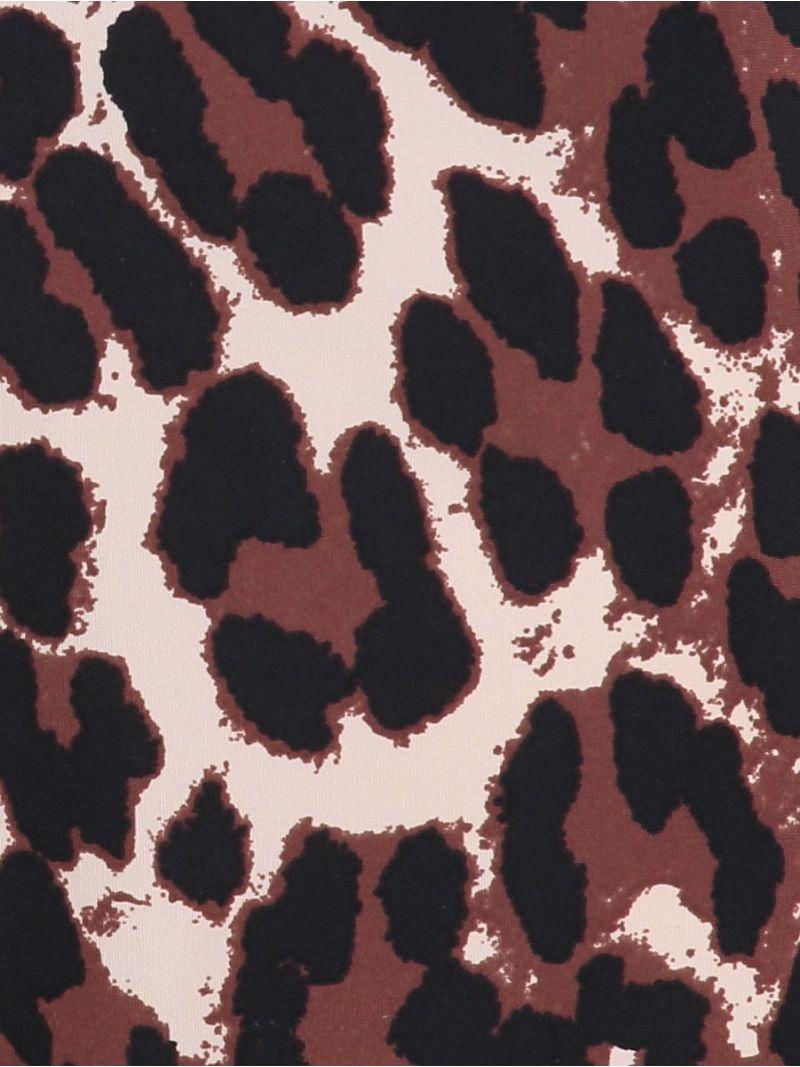 03964  Poppy Leopard Shirt - Oyster/Black