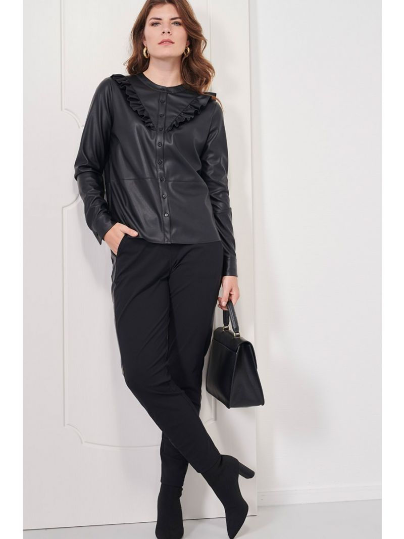 04012 Toma Trousers - Zwart