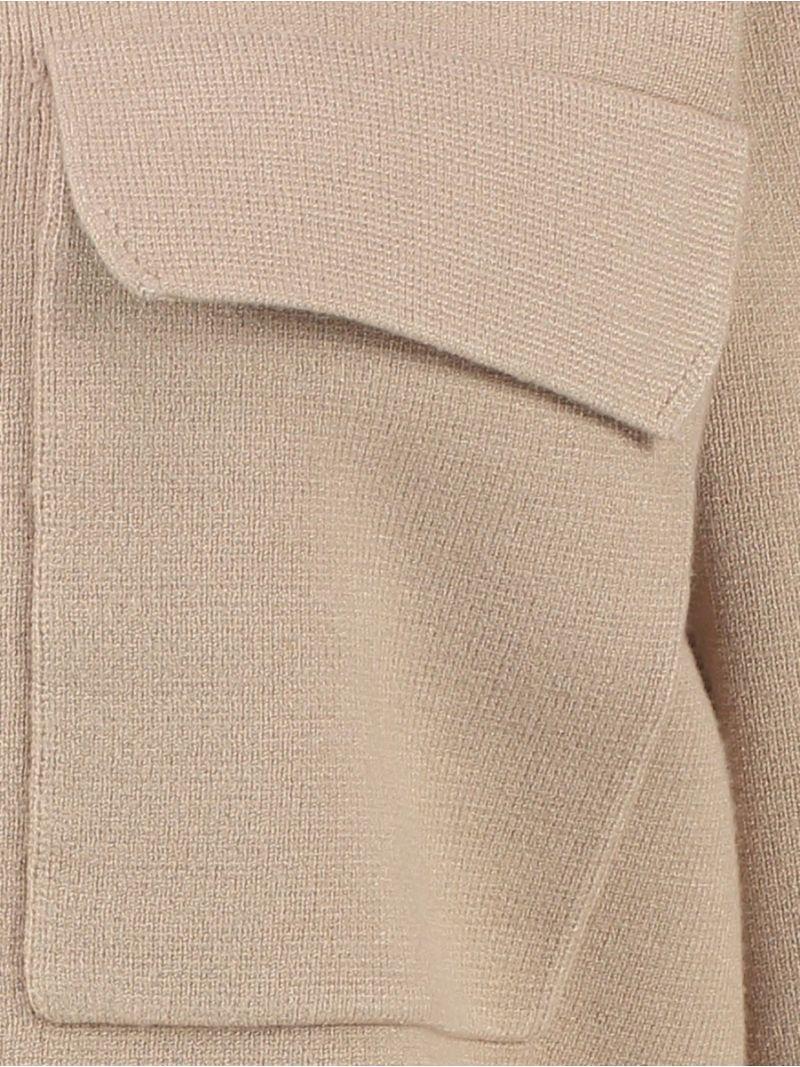 04040 Nori Zipp Jacket - Sand