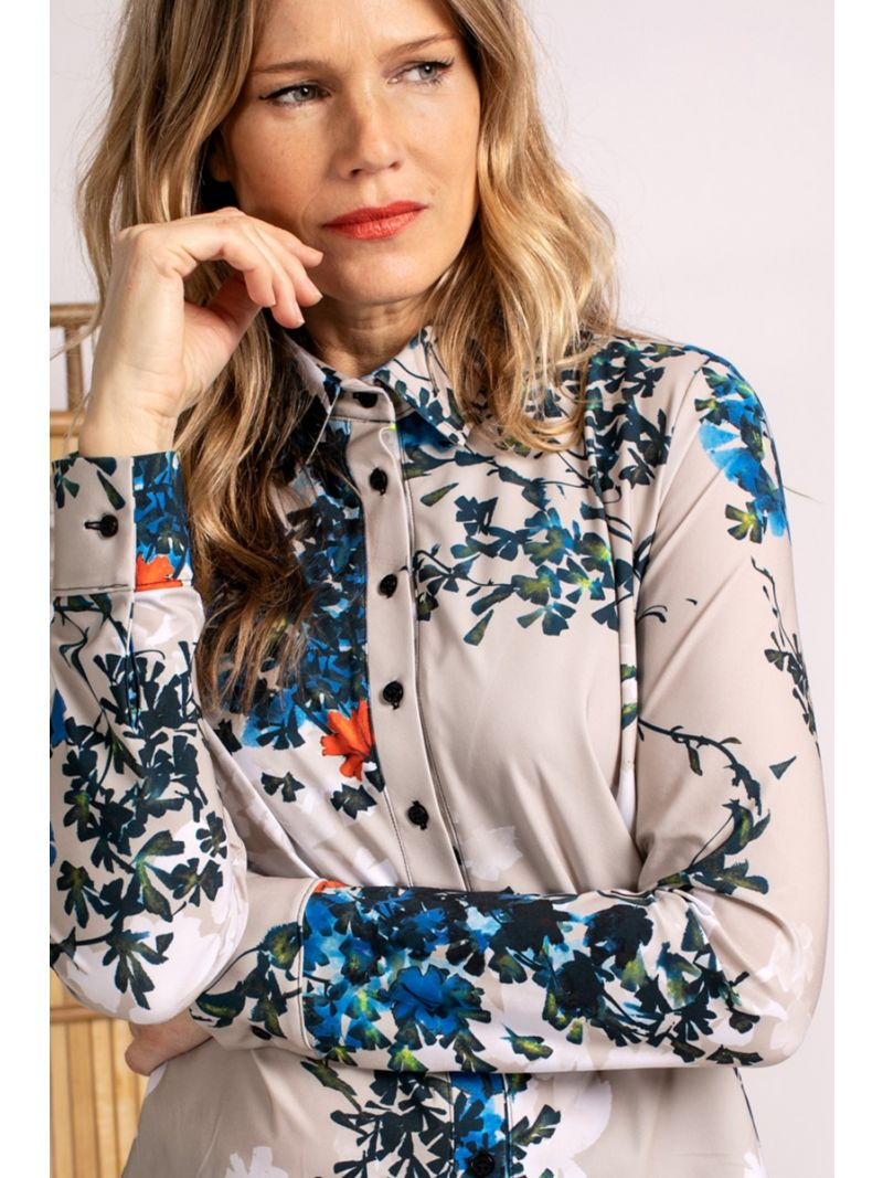04052 Poppy Blossom Travel Blouse