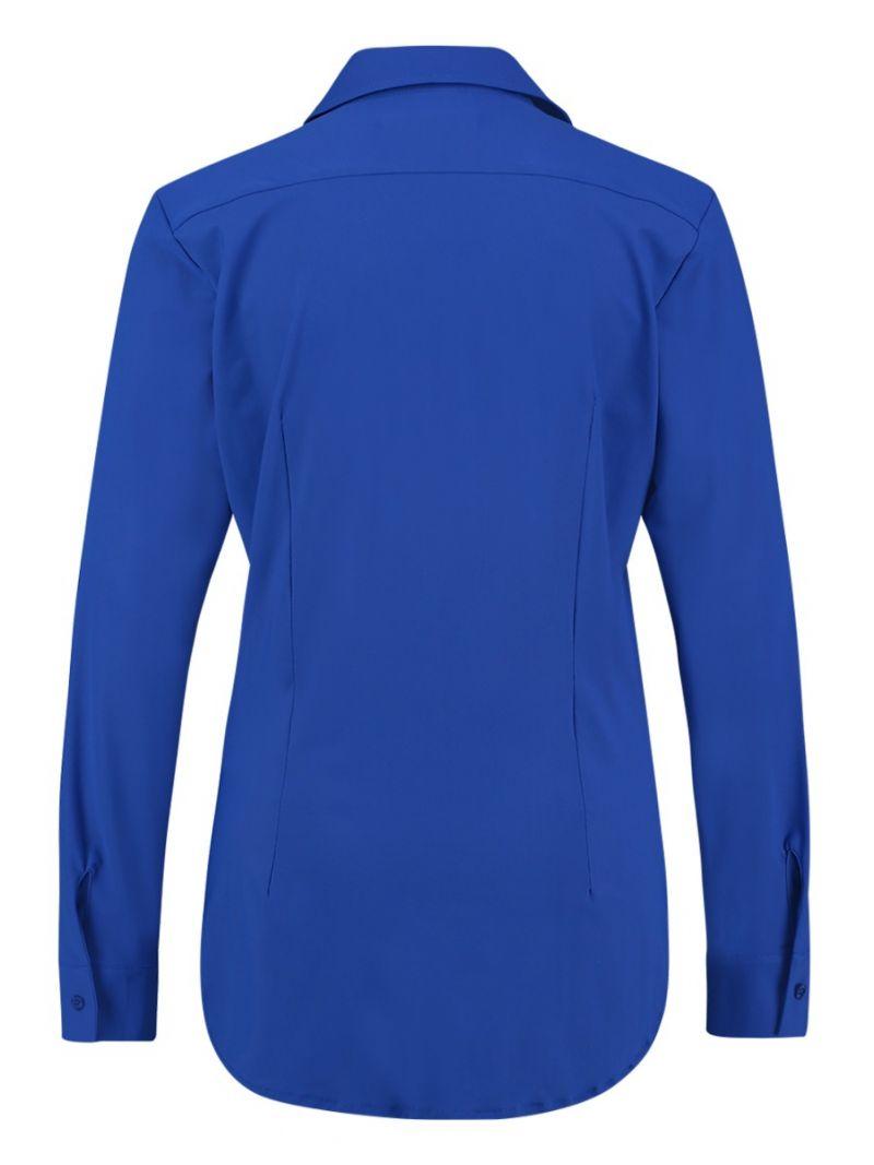 04055 Poppy Travel Blouse - Kobalt Blauw