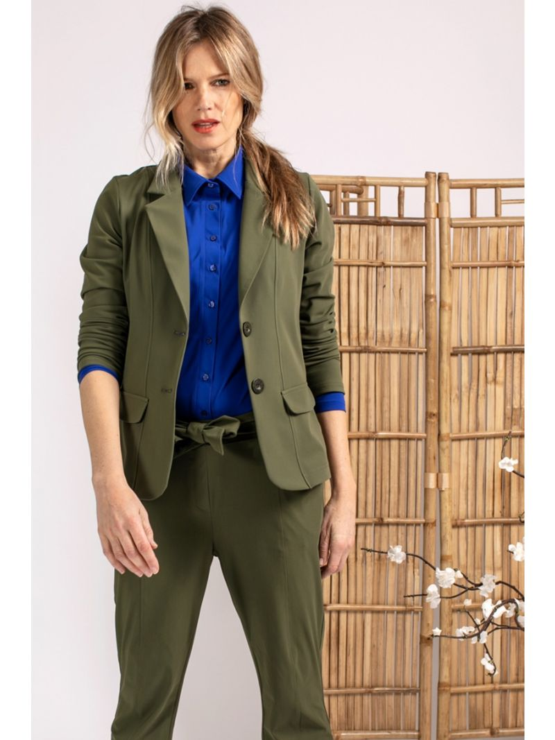 04061 Bright Bonded Travel Blazer - Army