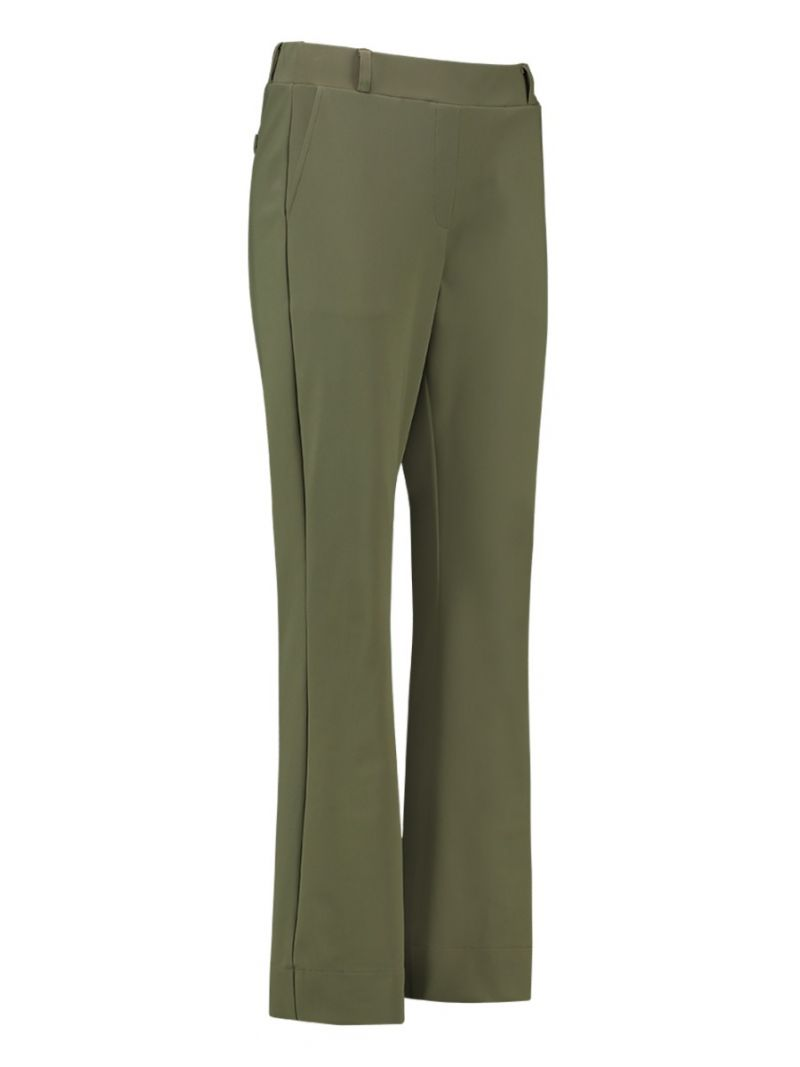 04062 Flair Bonded Trousers - Army