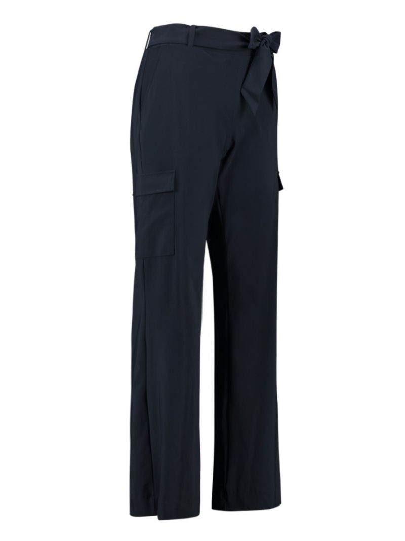 04074 Marilou Travel Trousers - Donker Blauw