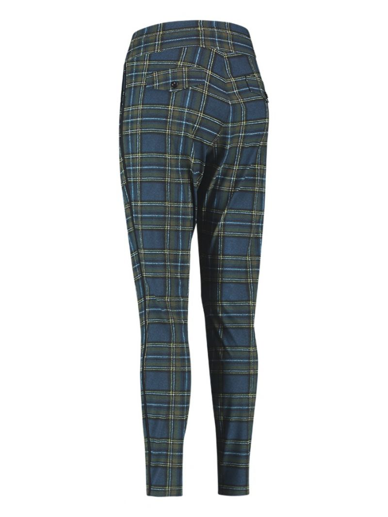 04095 Road Check Travel Trousers - Donker Blauw / Army
