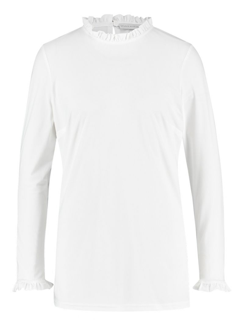 04126 Victoria Roessel Top - Off White