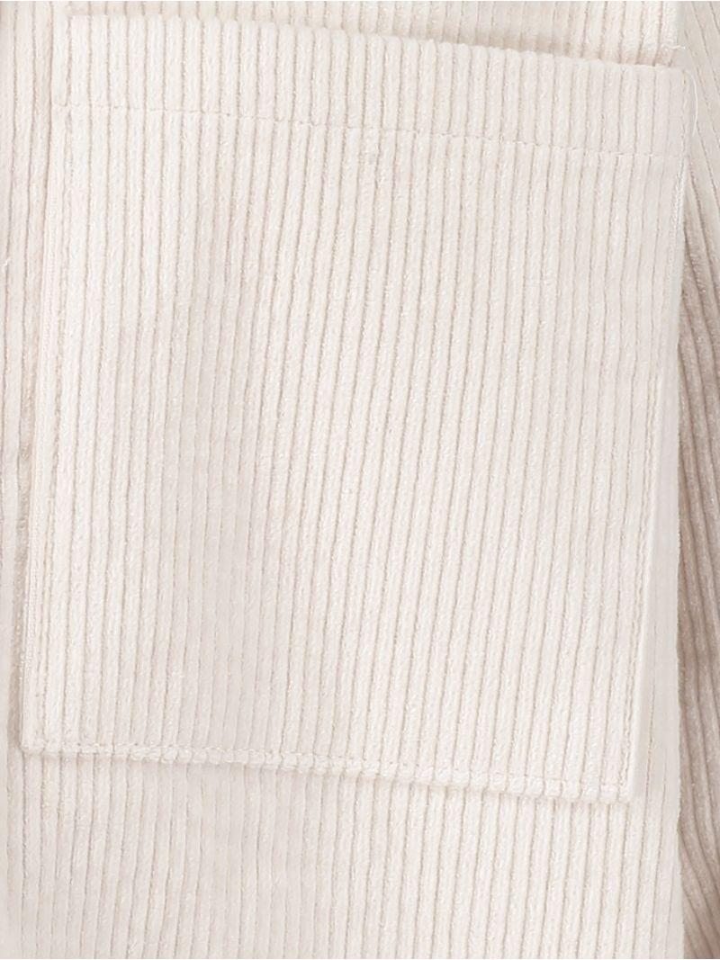 04177 Roberta Corduroy Blouse - Off white