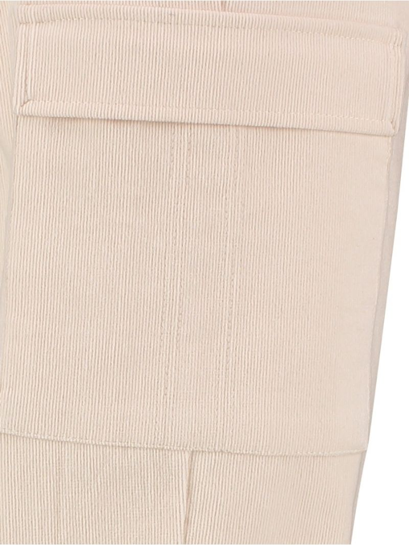 04179 Worker Babycord Trousers - Off White