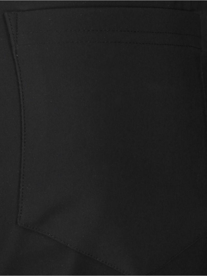 04195 Soho Bonded Trousers - Zwart