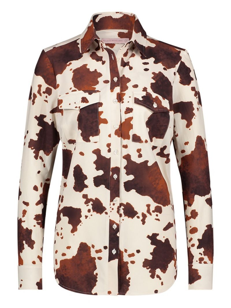 04218 Poppy Cow Blouse