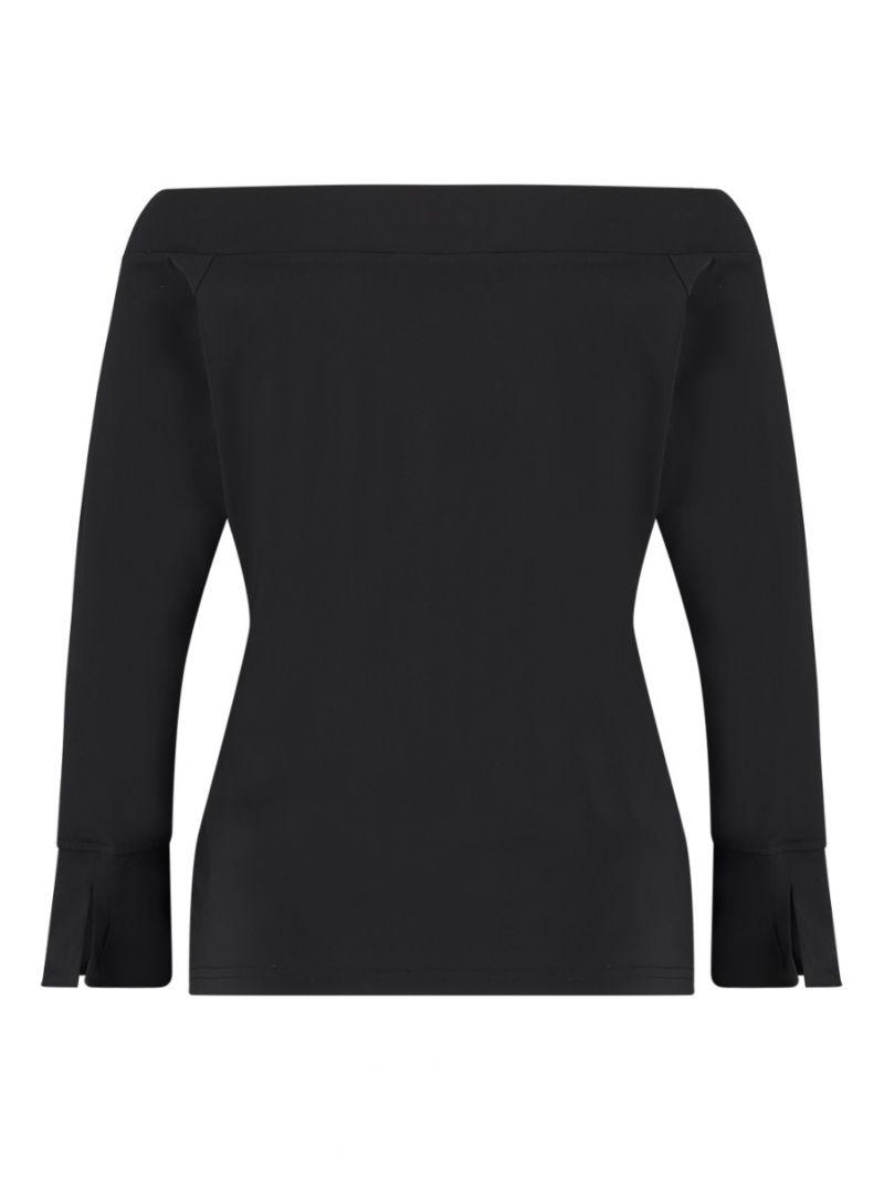 04221 Dolly Travel Shirt - Zwart