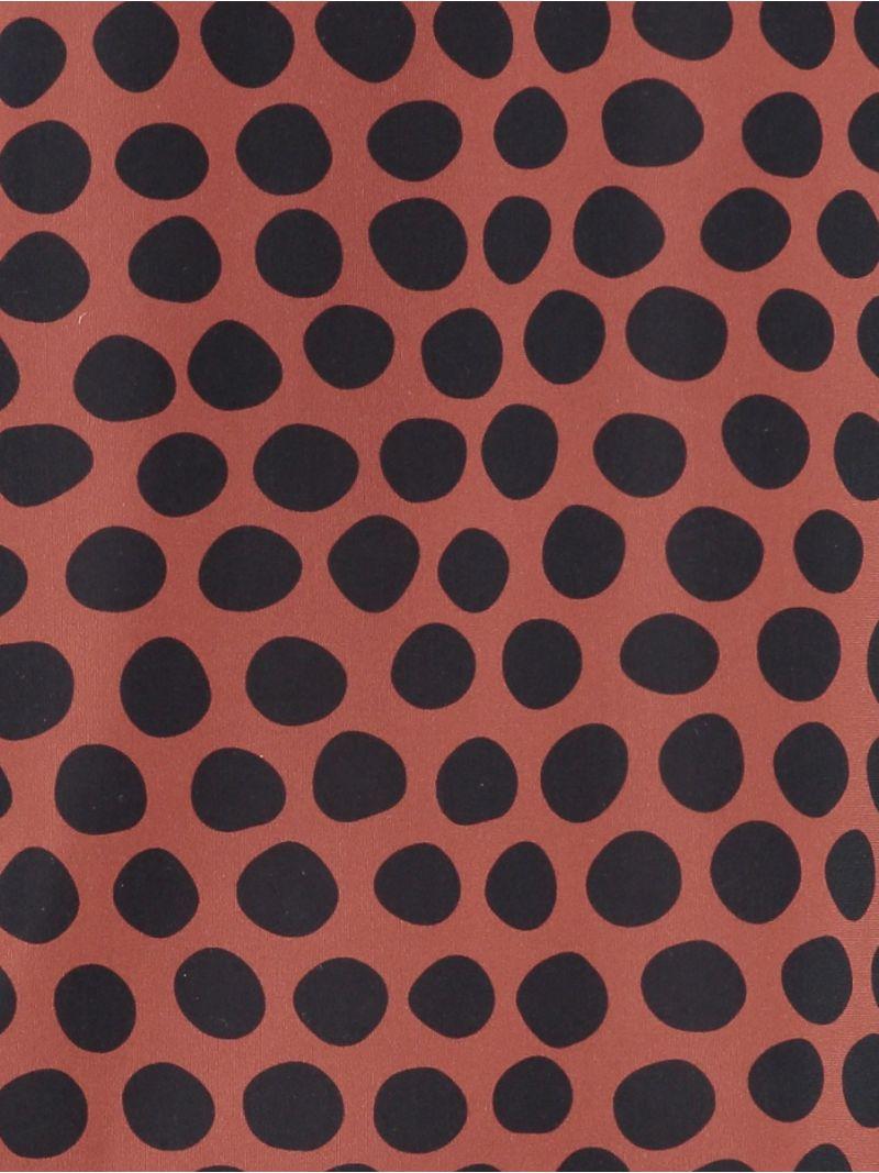 04230 Ready Dot Top - Terra / Donker Blauw