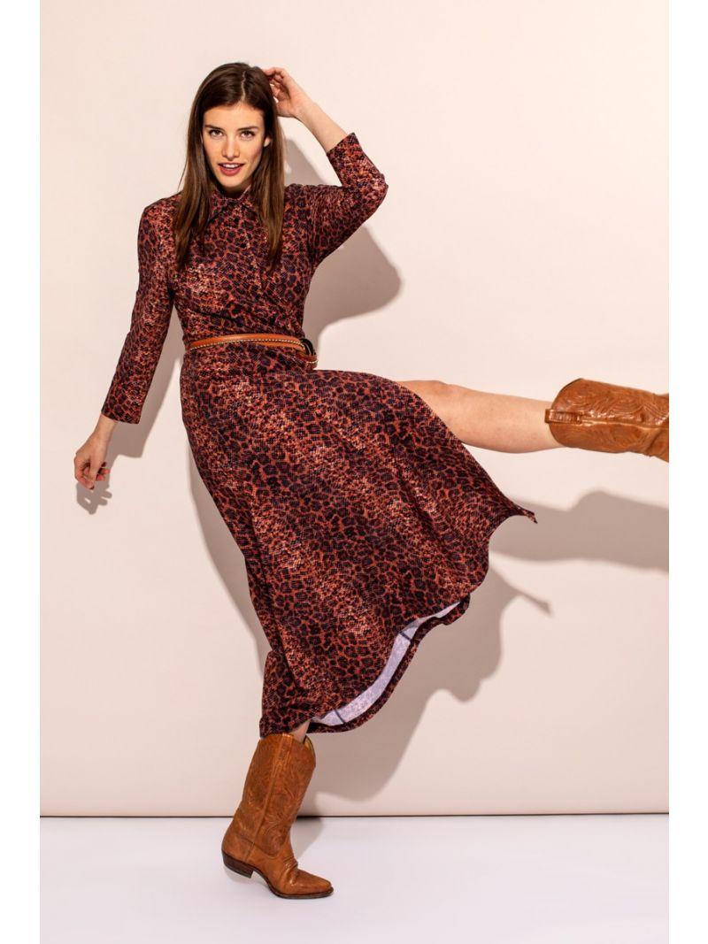 04239 Indy Snake Dress