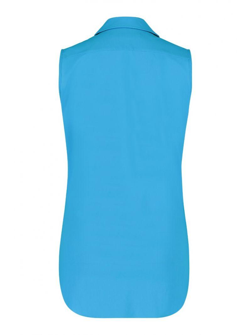 04826 Poppy Knot SL Blouse - Blauw