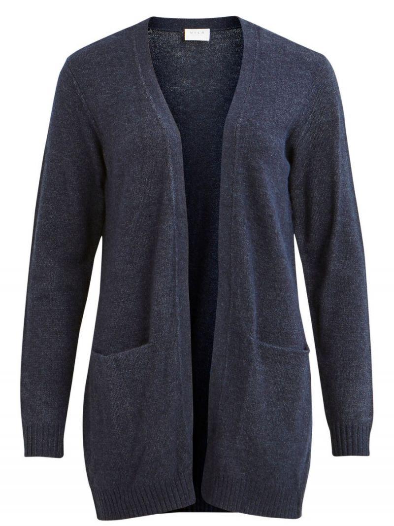 Basic Vest Donker Blauw