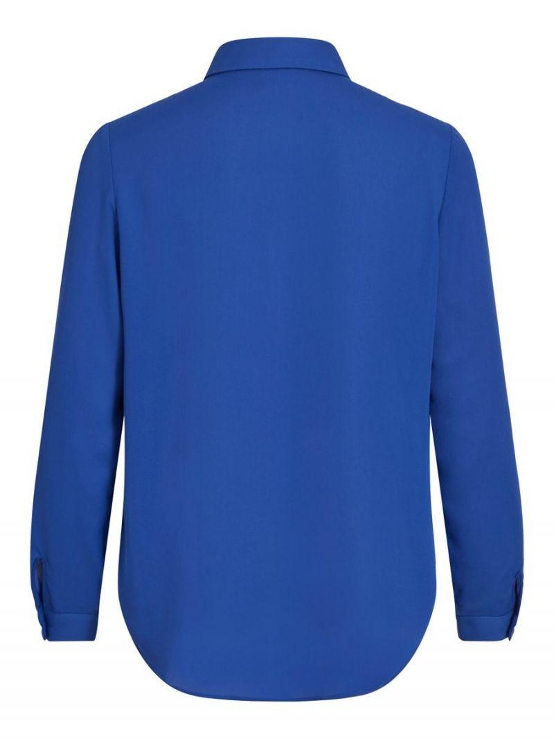 Loose Fit Blousje - Cobalt Blauw