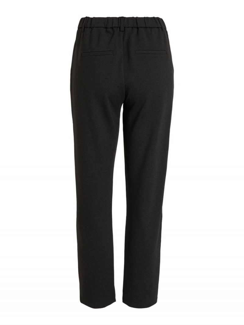 Cropped Pantalon - Zwart