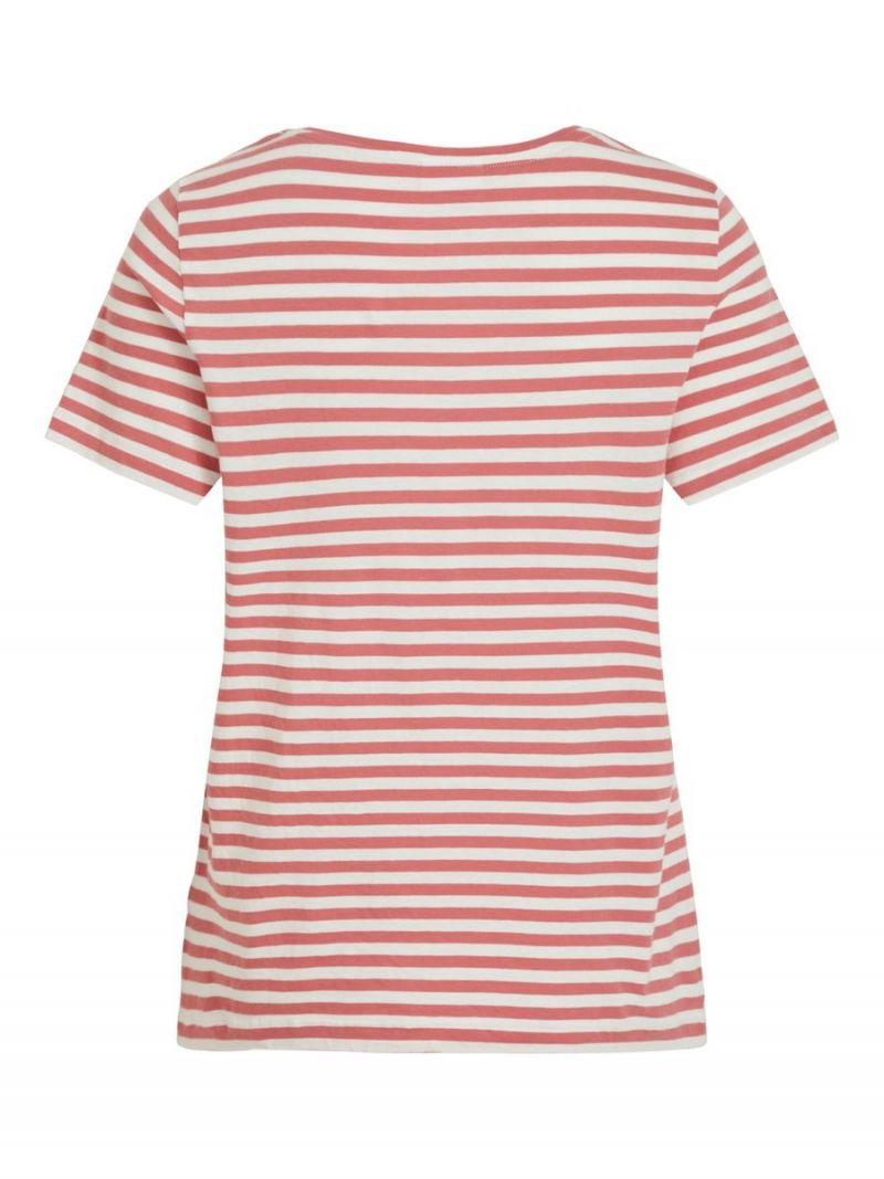T-Shirt Organic Cotton - Roze
