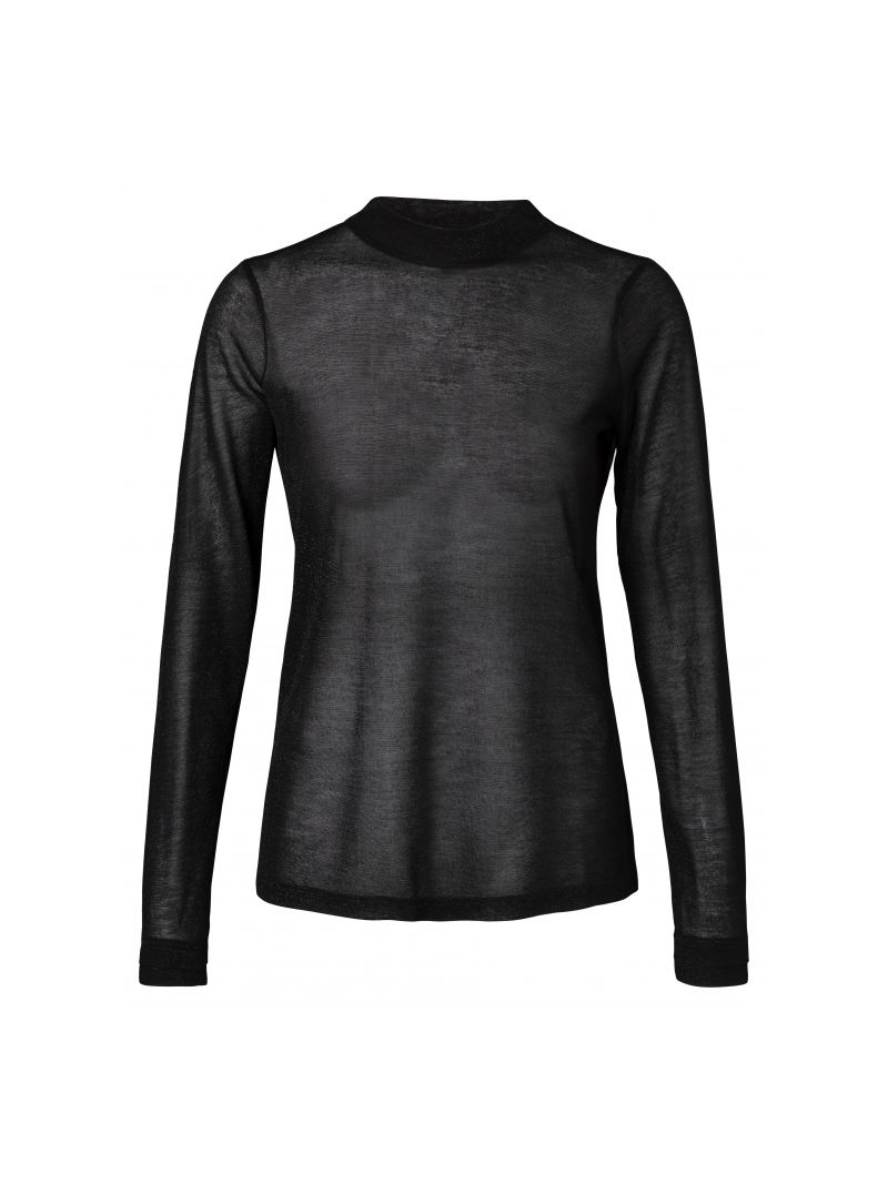 Shirt Glossy - Zwart