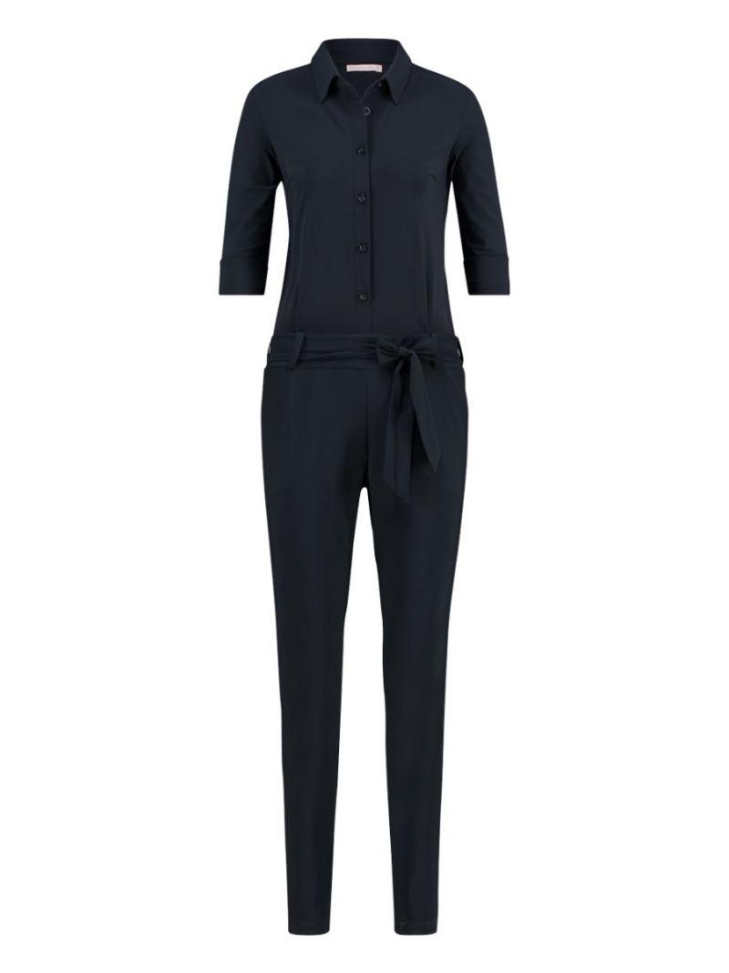90544 - Angelique Jumpsuit 3/4 - Donker Blauw