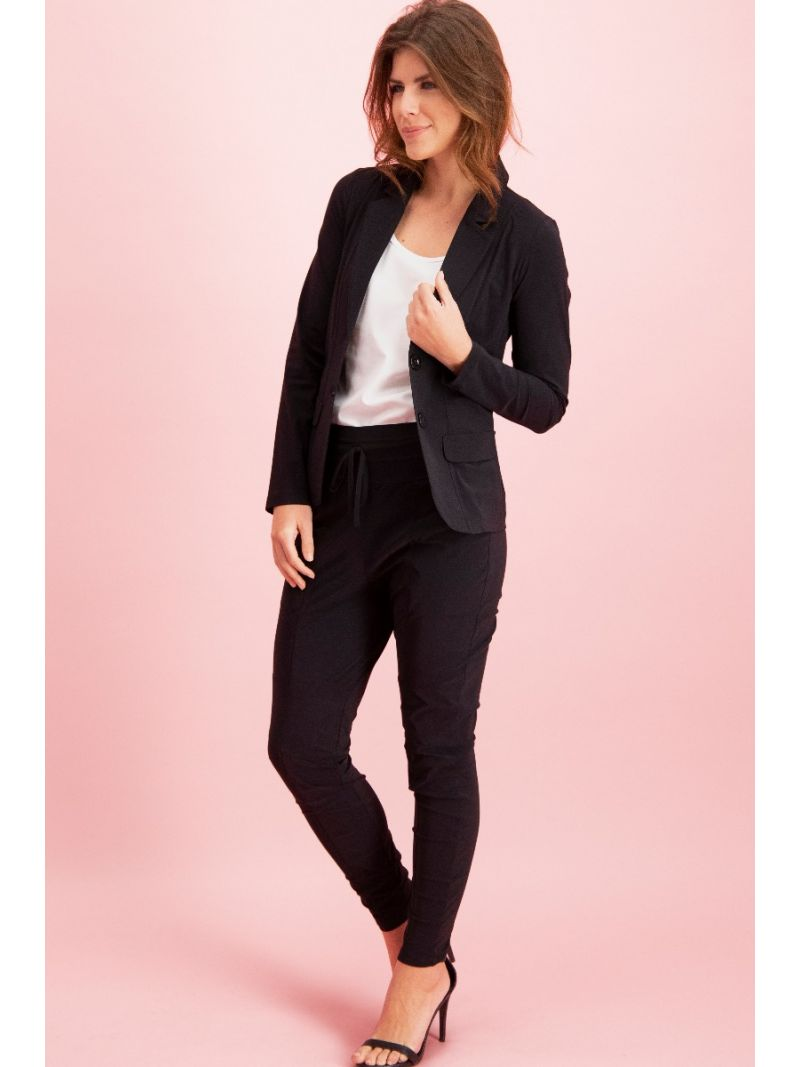 91934  New Franka Trousers - Zwart