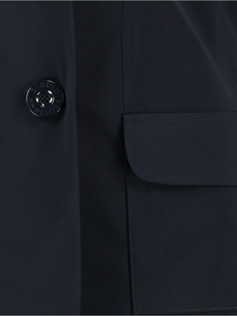 92723 Clean Travel Blazer Basis - Donker Blauw