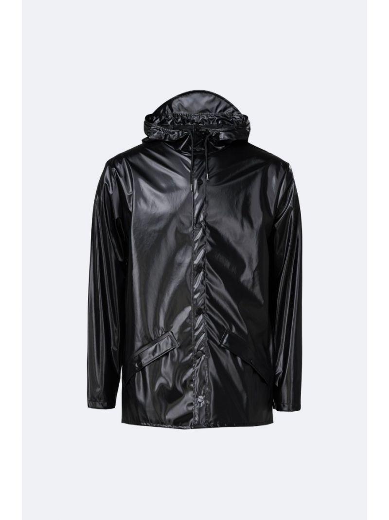 Shiny Raincoat - Zwart